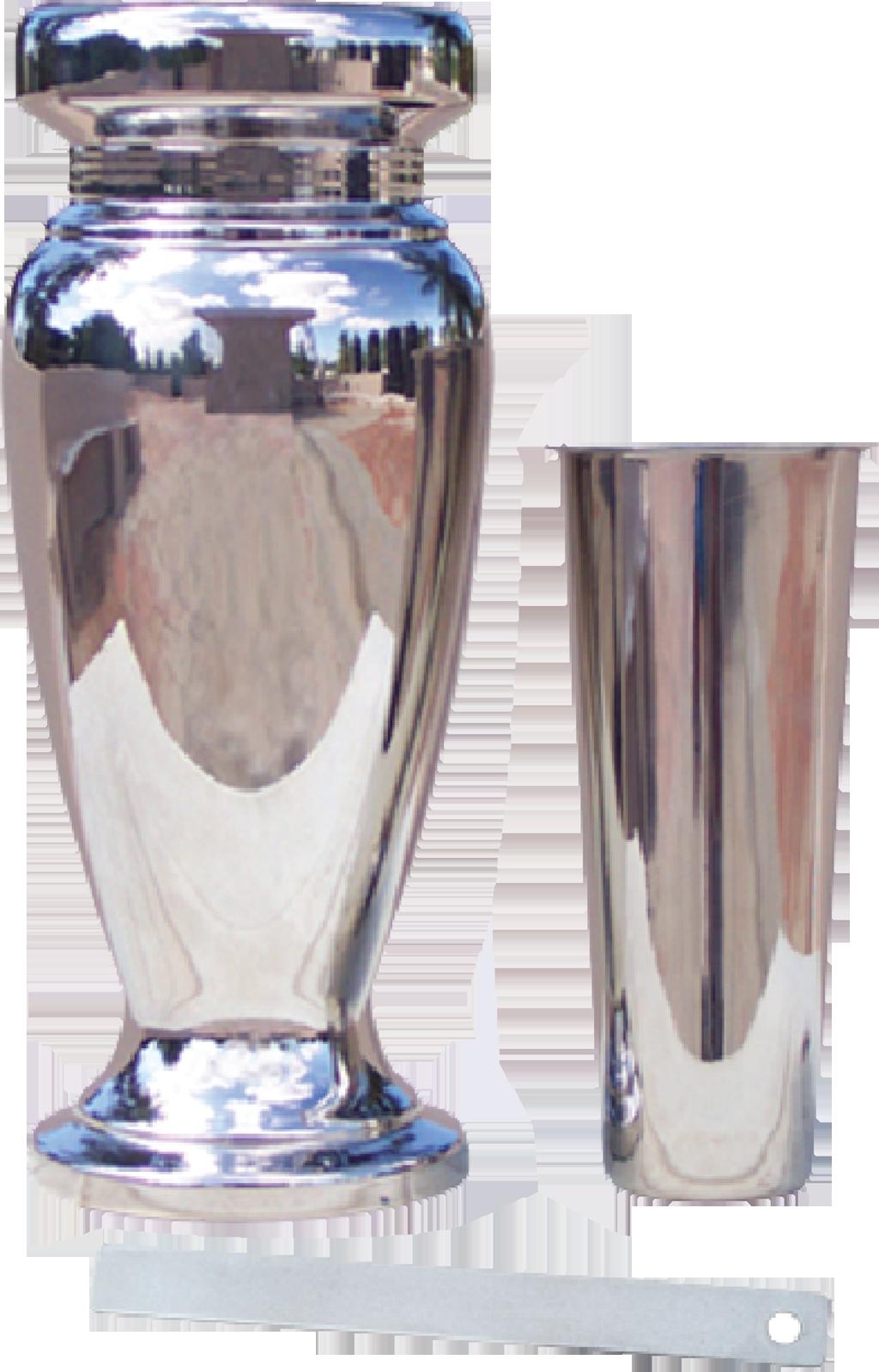 AV91 Metal Vase